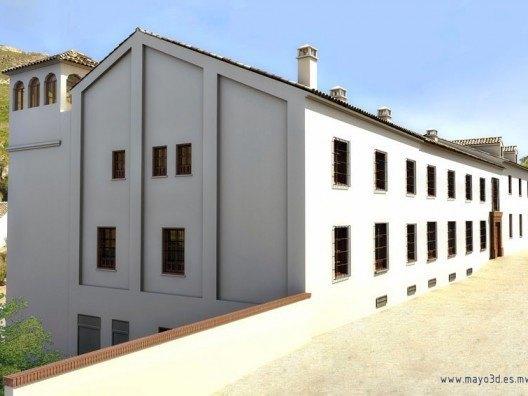 Infografía de escuela de hosteleria en Antequera por Bonet Arquitectos