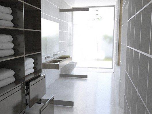 Baño Minimalista, Bonet Arquitectos en Antequera Málaga