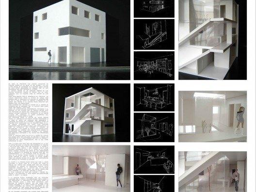 Vivienda entre medianeras por Bonet Arquitectos