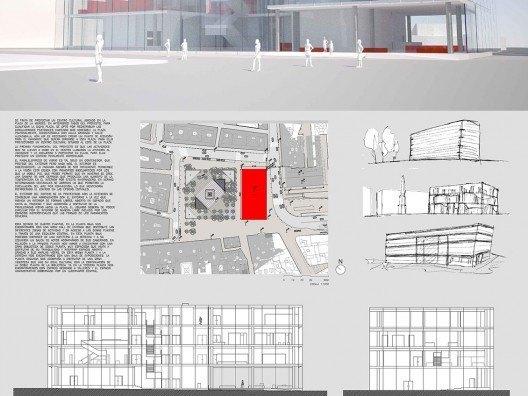 Centro cultural Malaga Plaza de la Merced, Bonet Arquitectos