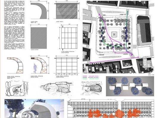 Stand Plaza de la Merced, Bonet Arquitectos