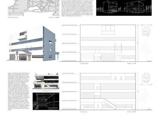 Villa Stein de Le Corbusier, grafismo Bonet Arquitectos