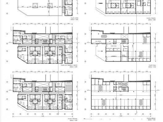 Vivienda Colectiva Plaza de la Merced en Málaga por Bonet Arquitectos