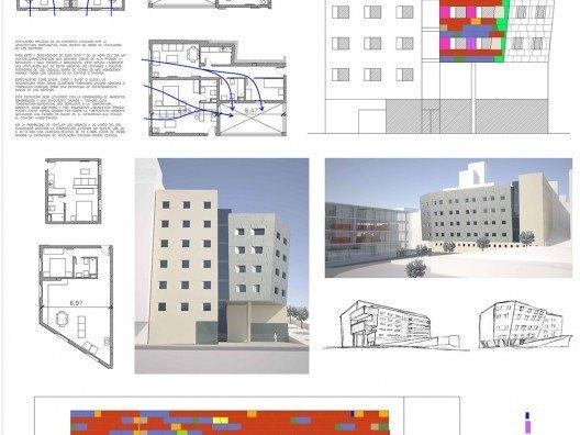 Vivienda Colectiva Plaza de la Merced por Bonet Arquitectos