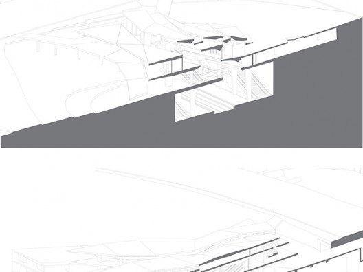 Secciones Proyecto Falling Light por Bonet Arquitectos