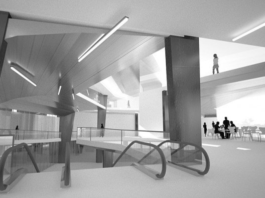Arquitectura moderna edificio público, Bonet Arquitectos