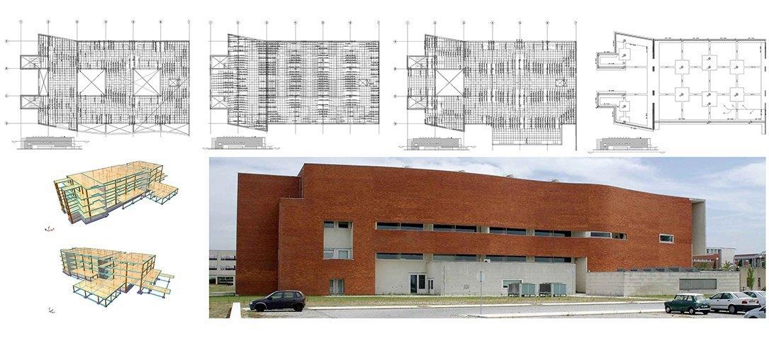 Planos originales y arquitectura por Alvaro Siza, planos de ejecución por Joaquín Bonet, Bonet Arquitectos