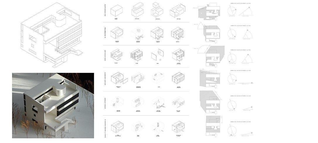 Planos Villa Stein por Bonet Arquitectos