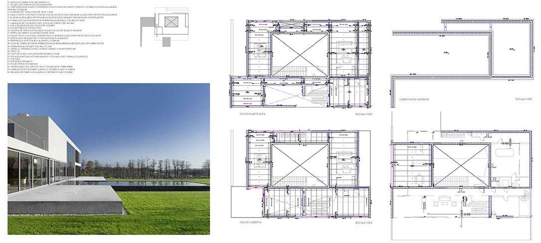 Arquitectura de Robert Konieczny, planos de ejecución por Bonet Arquitectos