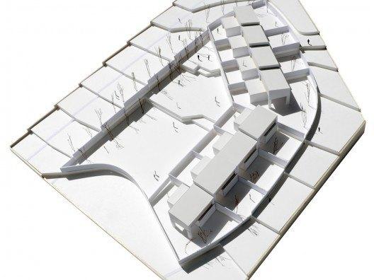 Maqueta adosados en benalmádena por Bonet Arquitectos