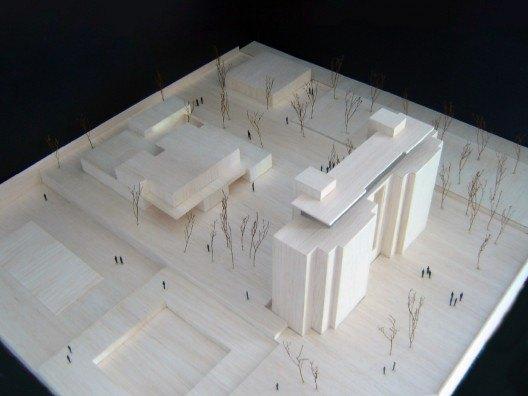 Maqueta Cesar Carlos por Bonet Arquitectos
