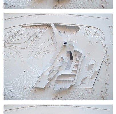 Plantas-Maqueta Falling Light por Bonet Arquitectos