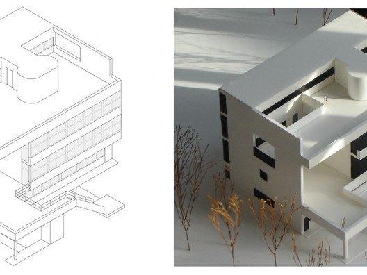 Maqueta Villa Stein por Bonet Arquitectos