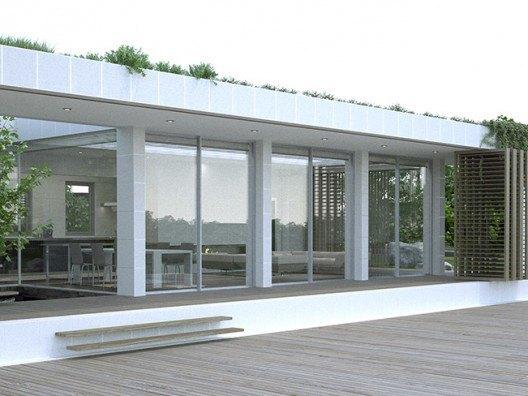Villa Mini vista posterior Joaquín Bonet, Bonet Arquitectos